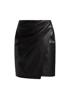 Nanushka Nasir Mini Faux Leather Skirt