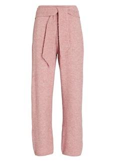 Nanushka Nea Tie-Waist Knit Pants