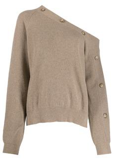 Nanushka off-shoulder knitted top
