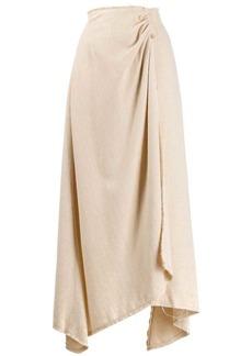Nanushka Rupi pearl pin blanket skirt