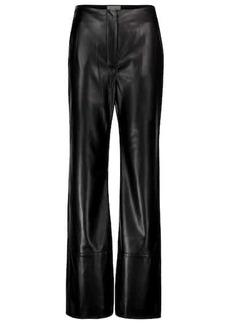 Nanushka Rhyan high-rise faux leather pants