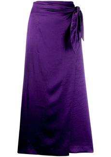 Nanushka Sarong skirt