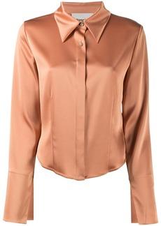 Nanushka satin shirt