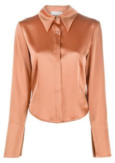 Nanushka Alice long-sleeved shirt