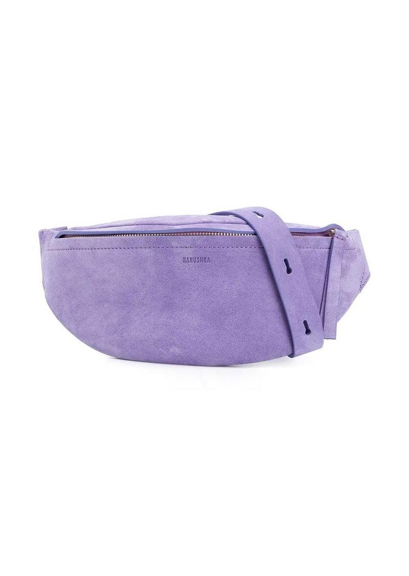 textured belt bag