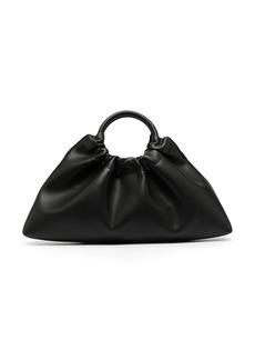 Nanushka Trapeze leather tote bag