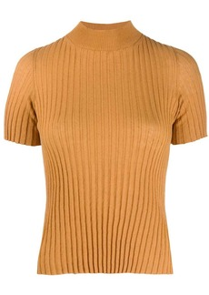 Nanushka turtleneck ribbed-knit top