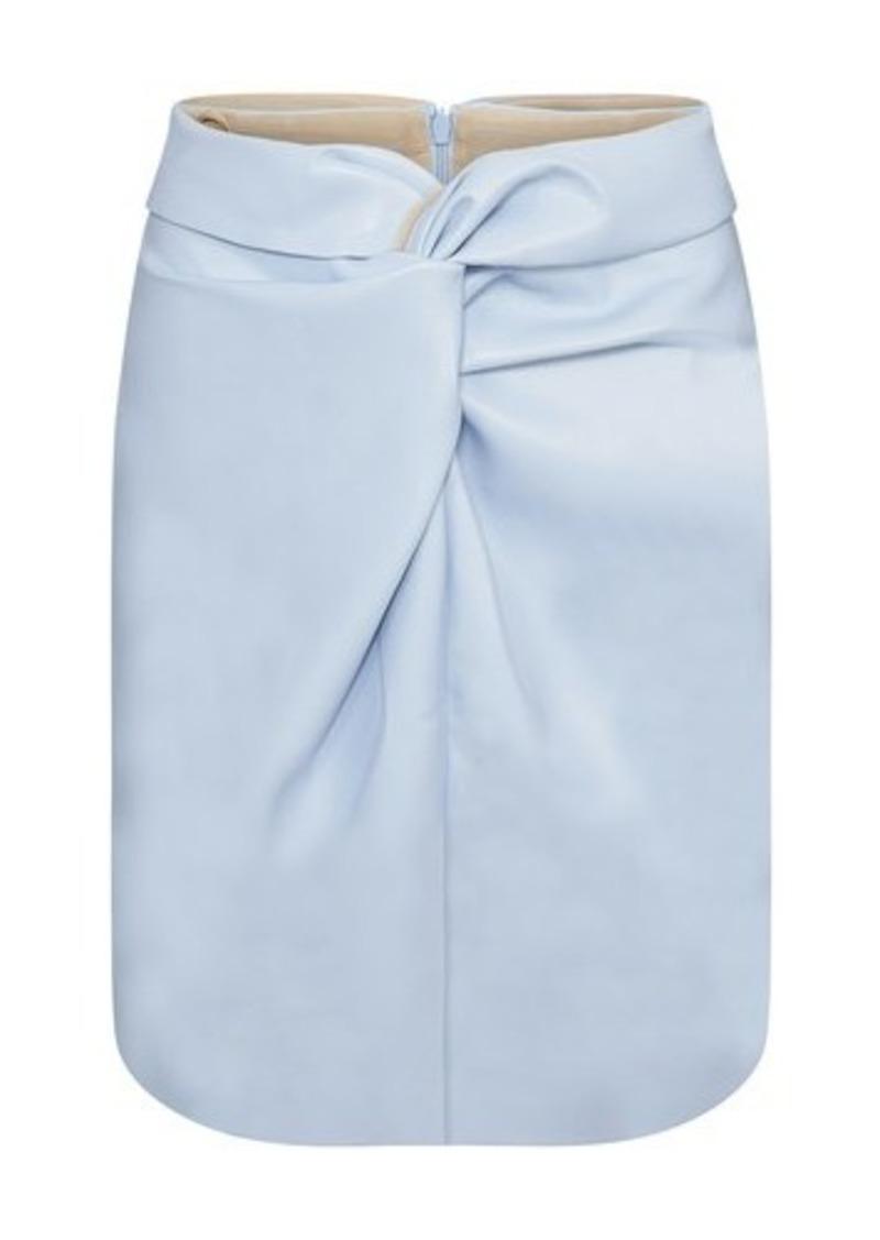 Vegan leather Milo skirt