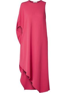 Narciso Rodriguez Asymmetric Cady Midi Dress