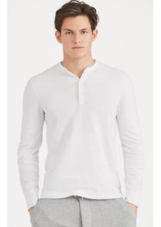 Narciso Rodriguez Cotton-Blend Henley Shirt