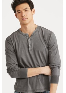 Narciso Rodriguez Cotton Jersey Henley Shirt