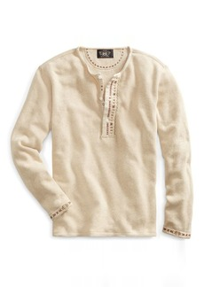 Ralph Lauren Embroidered Terry Henley