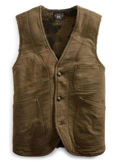 Ralph Lauren Fleece-Lined Jersey Vest