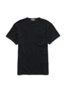 Ralph Lauren Indigo Cotton Jersey T-Shirt