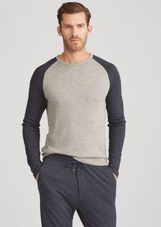 Narciso Rodriguez Long-Sleeve Crewneck T-Shirt