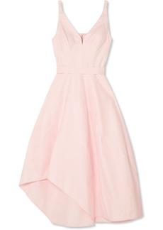 Narciso Rodriguez Asymmetric cotton-blend midi dress