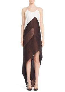 Narciso Rodriguez Asymmetrical Slipdress
