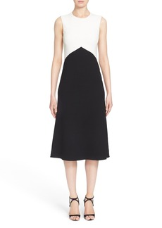 Narciso Rodriguez Crepe A-Line Dress