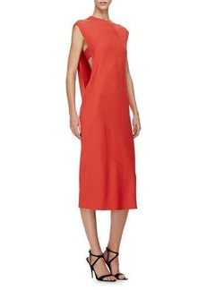 Narciso Rodriguez Sleeveless Sheath Midi Dress