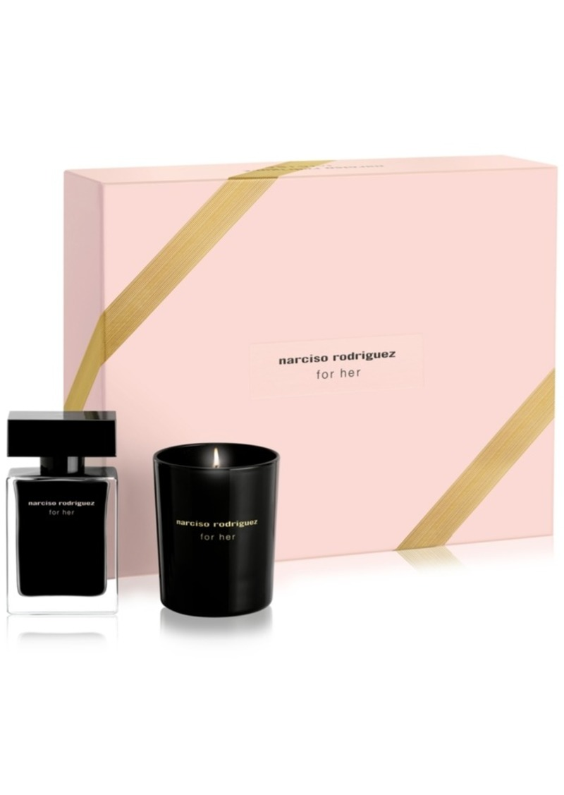 Narciso Rodriguez for Her Eau de Toilette Candle Gift Set