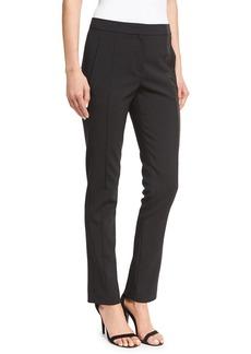 Narciso Rodriguez Side-Stripe Straight-Leg Pants