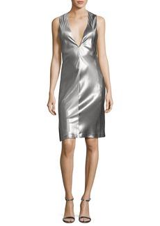 Narciso Rodriguez Sleeveless Low-Armhole Shift Dress
