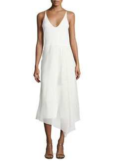 Narciso Rodriguez Sleeveless Modified-Racerback Dress