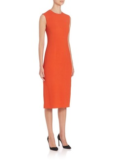 Narciso Rodriguez Sleeveless Sheath Dress