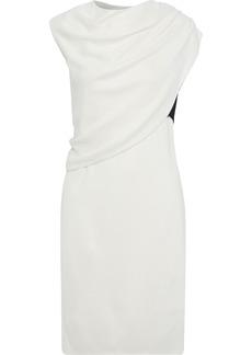 Narciso Rodriguez Woman Layered Draped Jersey Dress Ivory