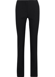 Narciso Rodriguez Woman Wool-twill Slim-leg Pants Black
