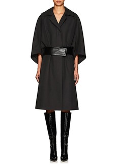 Narciso Rodriguez Women's Belted Wool Twill Cavalry Coat