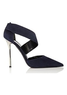 Narciso Rodriguez Women's Camilla D'Orsay Pumps-NAVY Size 6