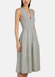 Narciso Rodriguez Women's Checked Wool Midi-Dress