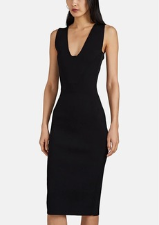 Narciso Rodriguez Women's Compact Knit Fitted Dress