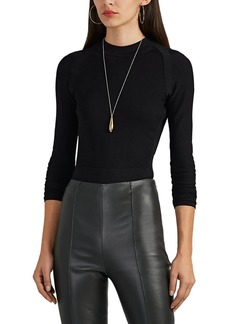 Narciso Rodriguez Women's Compact-Knit Sweater