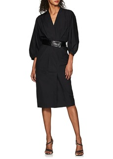 Narciso Rodriguez Women's Cotton Belted Dress