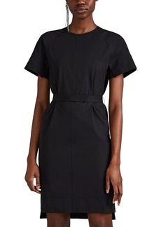 Narciso Rodriguez Women's Cotton Poplin Belted T-Shirt Dress