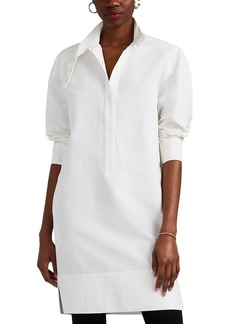 Narciso Rodriguez Women's Cotton-Silk Faille Shirtdress