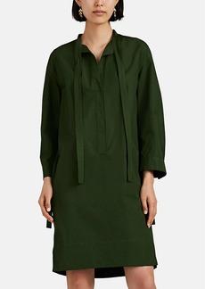 Narciso Rodriguez Women's Cotton Tieneck Shift Dress
