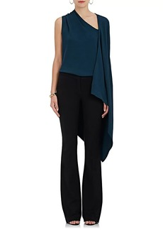 Narciso Rodriguez Women's Crepe Asymmetric-Cape Top