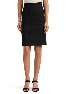Narciso Rodriguez Women's Denim Pencil Skirt