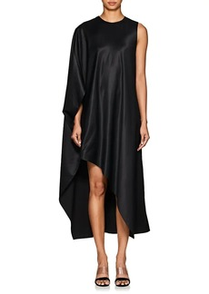 db41d5ce306 Narciso Rodriguez Women s Draped Satin Asymmetric Dress