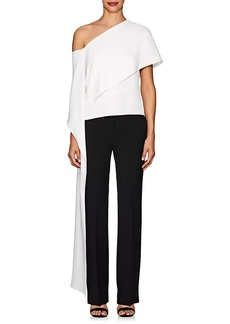 Narciso Rodriguez Women's Hammered Silk Off-The-Shoulder Blouse