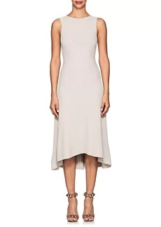 Narciso Rodriguez Women's Ottoman-Knit Flared Dress
