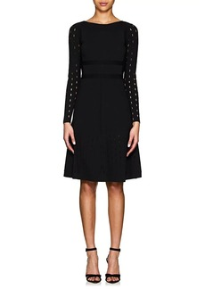 Narciso Rodriguez Women's Perforated Knit Dress
