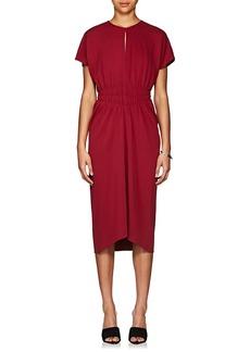 Narciso Rodriguez Women's Ruched Crepe Midi-Dress