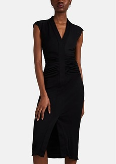 Narciso Rodriguez Women's Ruched Jersey Midi-Dress
