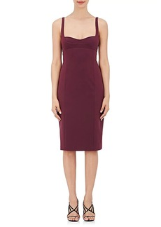 Narciso Rodriguez Women's Silk-Blend Faille Sheath Dress