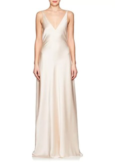 Narciso Rodriguez Women's Silk Charmeuse Gown