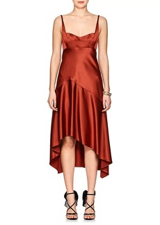Narciso Rodriguez Women's Silk Charmeuse High-Low Dress